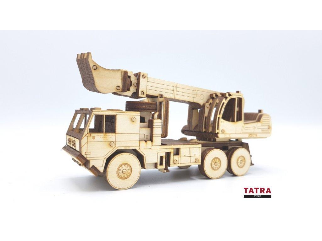 Dřevěný model TATRA 815-7 UDS