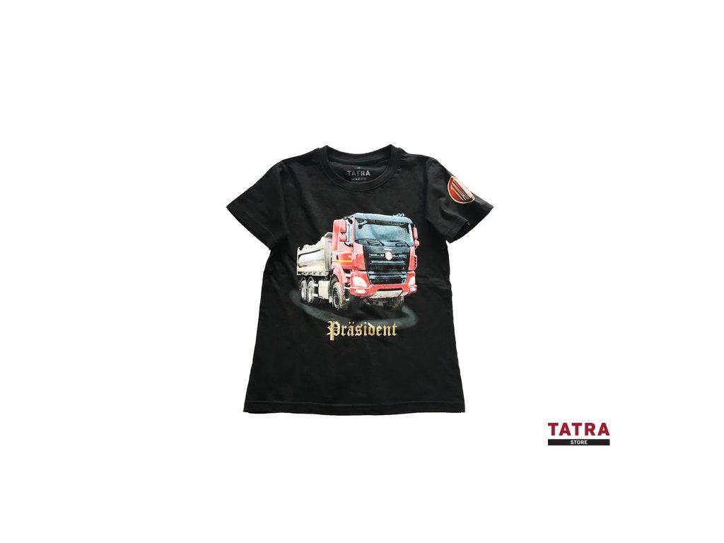 Tričko dětské PRÄSIDENT 6x6