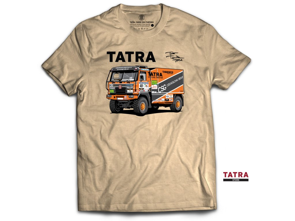Tatra tomecek front