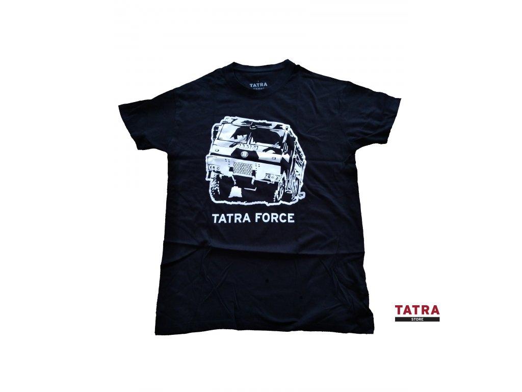 tričko černé hasič