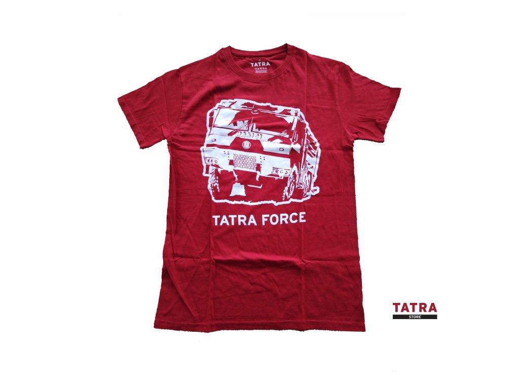 Pánské tričko TATRA FORCE HASIČ červené
