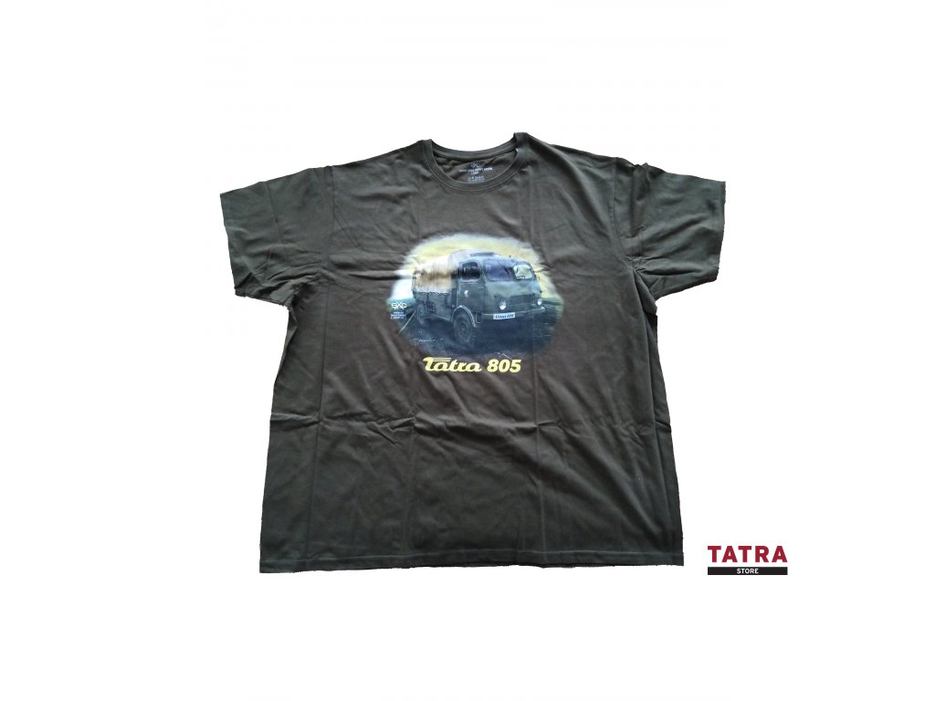 Tričko pánské TATRA 805 zelené