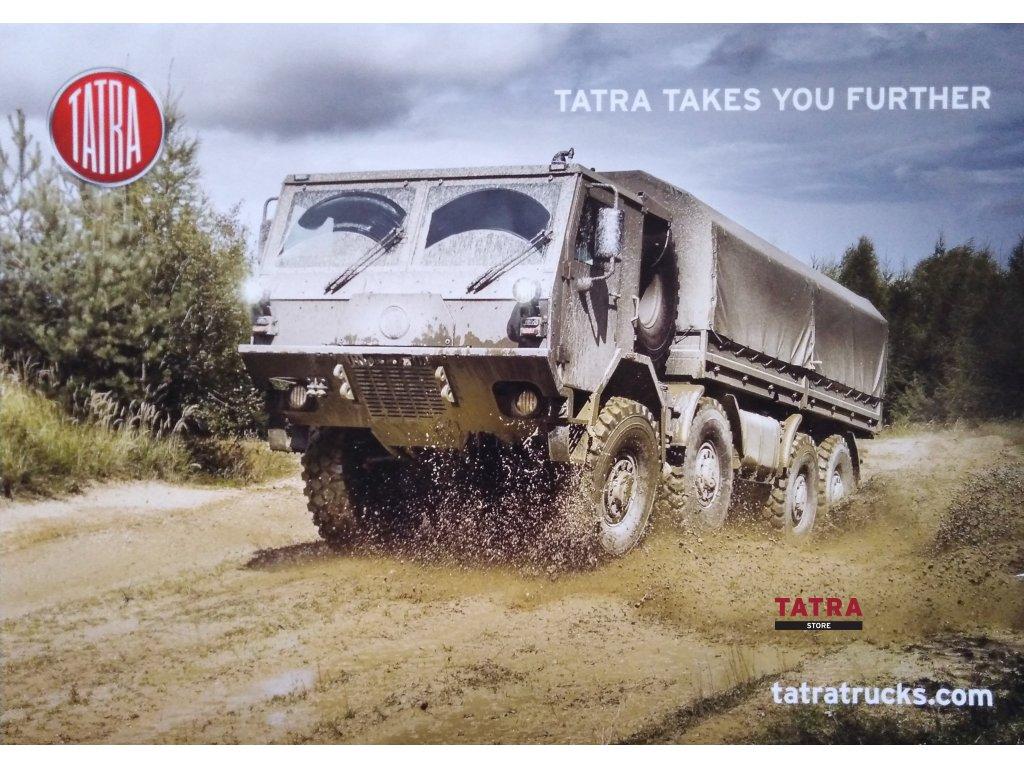 Plakát s motivem TATRA FORCE