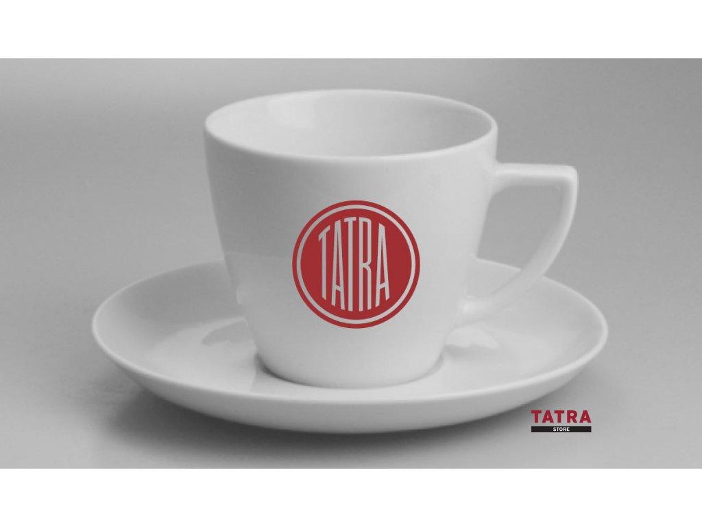 Hrnek TATRA s podšálkem / Tea cup with plate