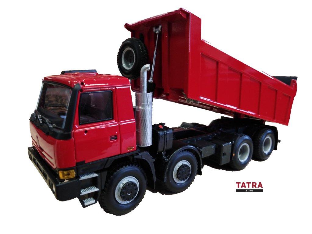 Kovový model TATRA 815 TERRNo 1 / Model T815 TERRNo 1 red-green