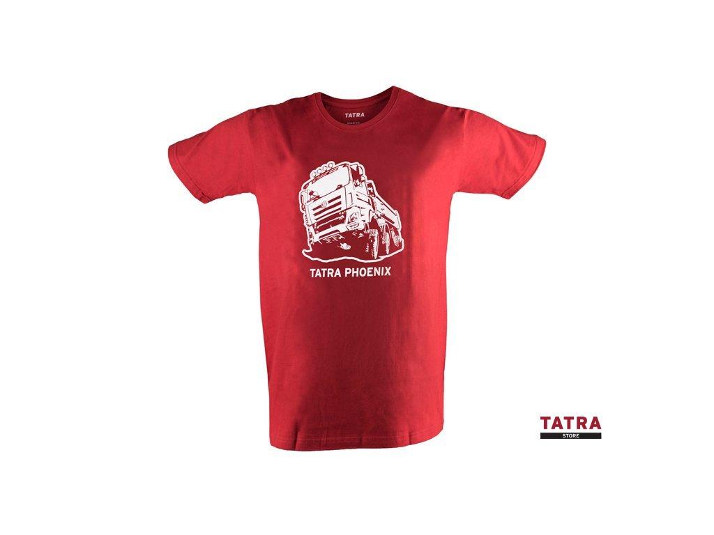 Pánské tričko TATRA PHOENIX červené