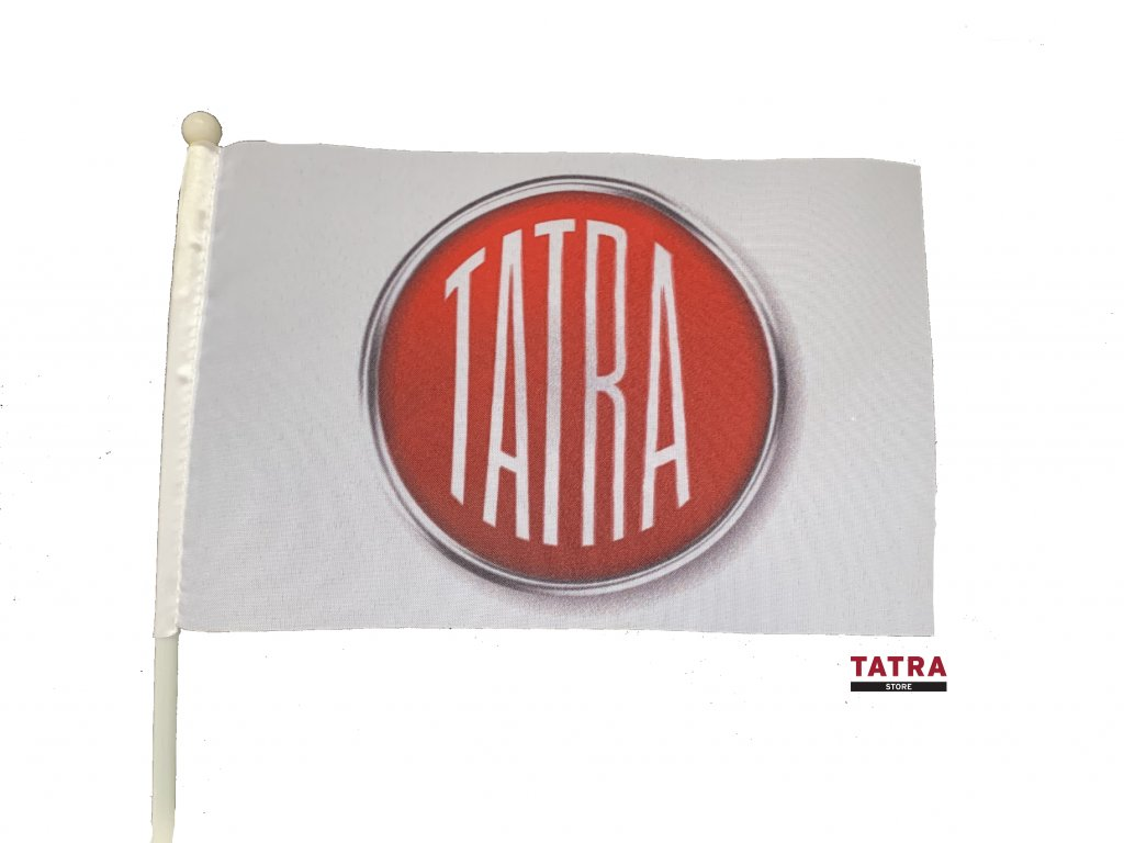 Vlaječka TATRA logo / Little Flag with LOGO