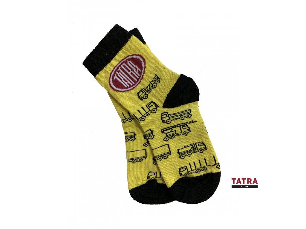 Ponožky pro malé Tatrováčky