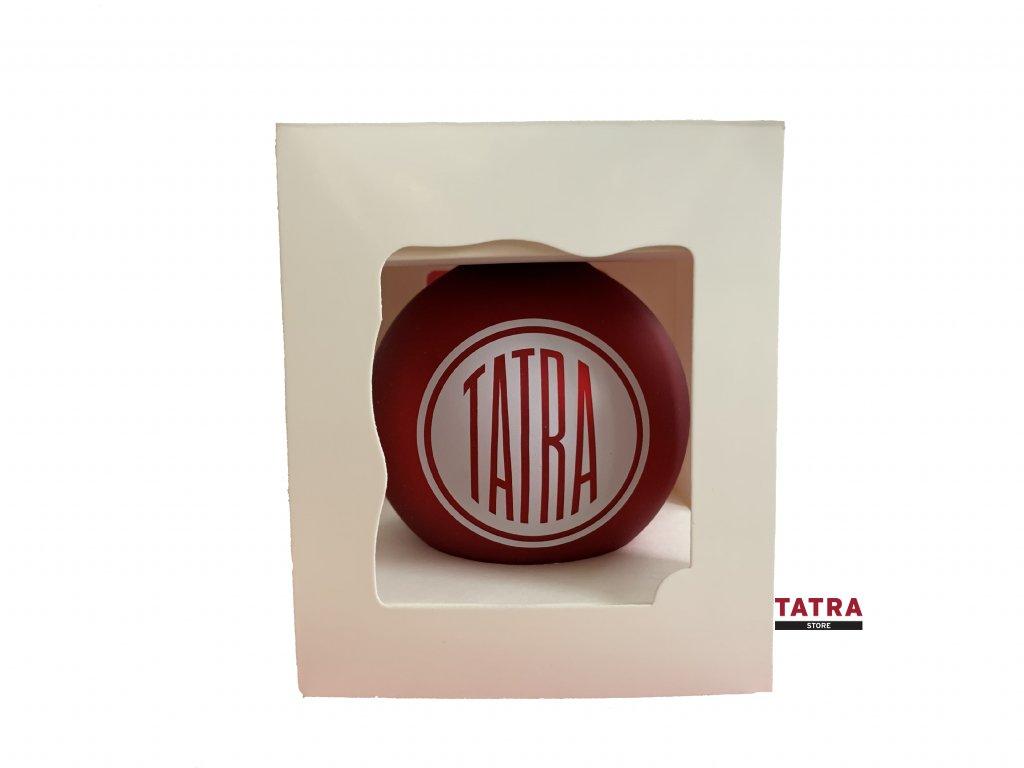 Vánoční baňka logo TATRA / Christmas Bauble TATRA