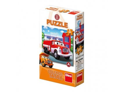 DINO Puzzle 60 dílků / DINO Puzzle 60 pcs