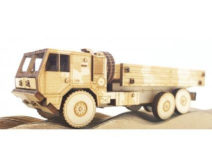 Dřevěný model TATRA 815-7 vojenský valník