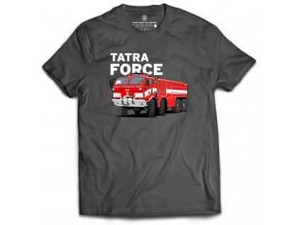 Tričko TATRA FORCE s motivem hasič / Mens T-Shirt TATRA Firefighter