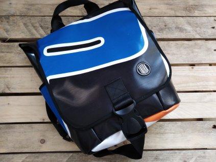 Batoh s příběhem z Afriky / Backpack from recycled truck tarp