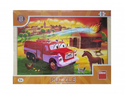 puzzle hasič