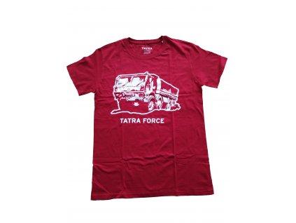 Tričko pánské TATRA FORCE červené