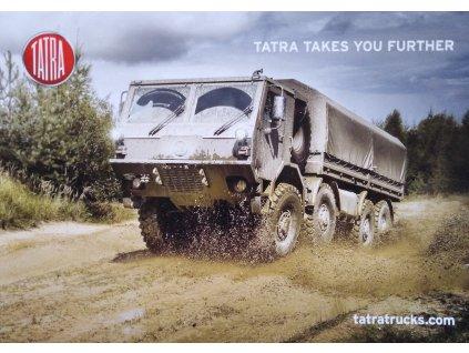 PLAKÁT S MOTIVEM TATRA FORCE / Poster Army TATRA FORCE