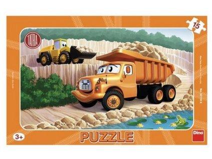 Výstřižek puzzle sklopka