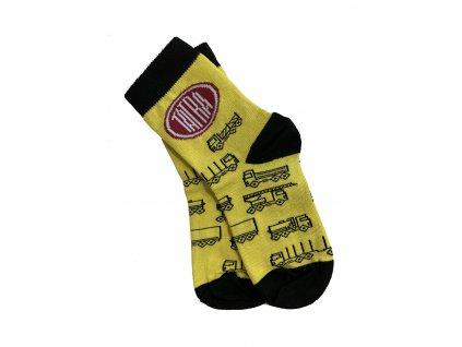 Ponožky pro malé Tatrováčky / Kids Socks with trucks