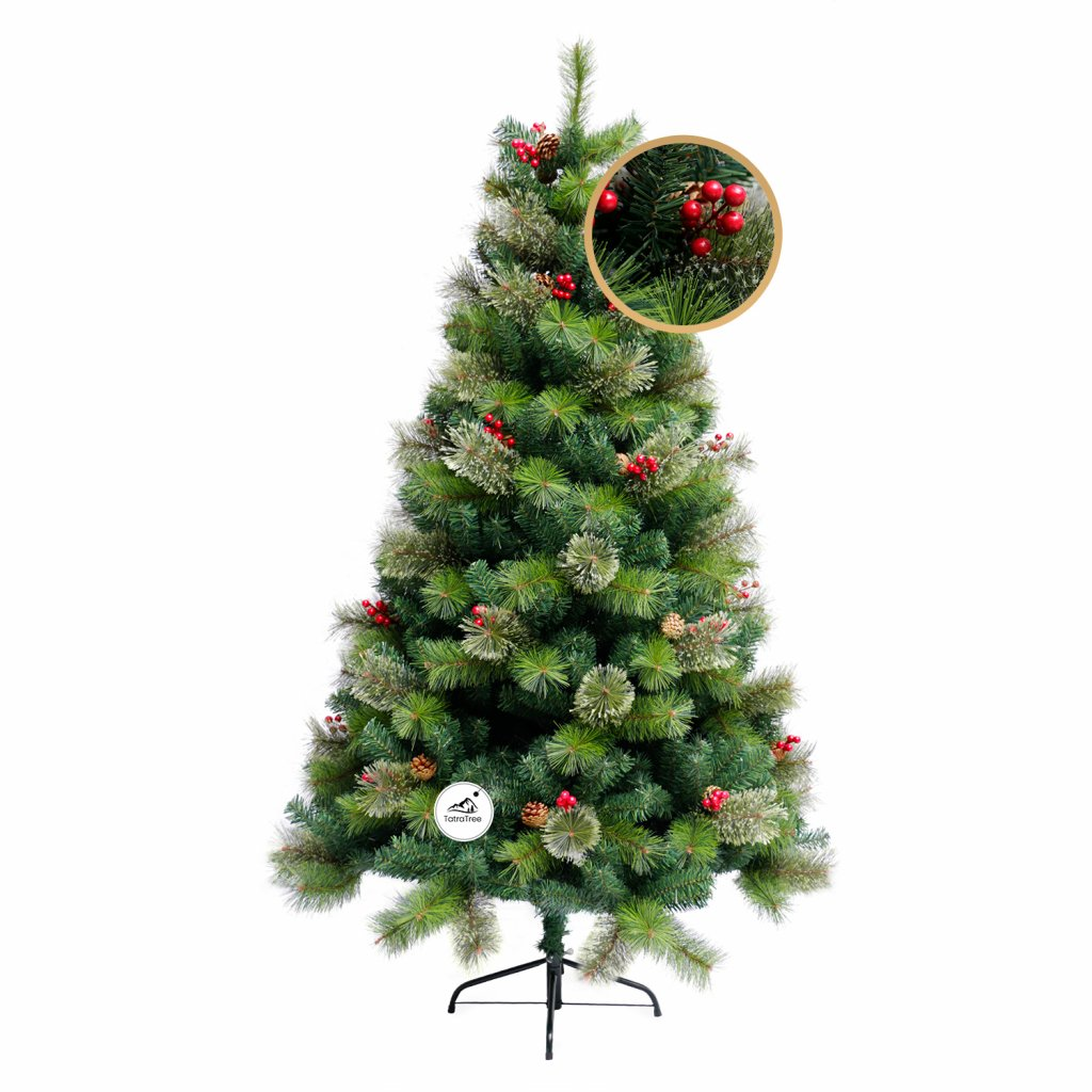 101 1 umely vianocny stromcek 2d jedla svedska 150 cm
