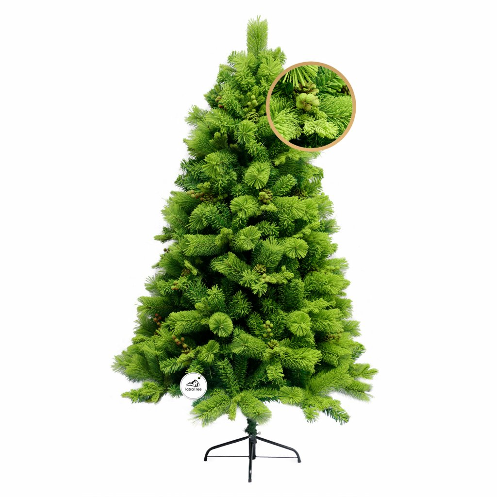 183 umely vianocny stromcek 3d smrekovec viedensky 180 cm
