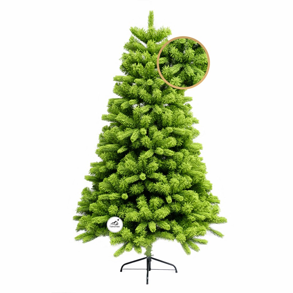 186 umely vianocny stromcek 3d smrek beskydsky 180 cm