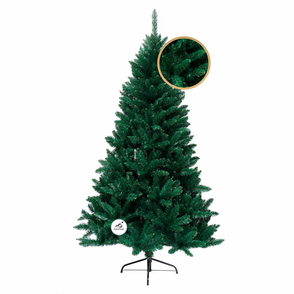 228 umely vianocny stromcek 2d smrek karpatsky 210 cm