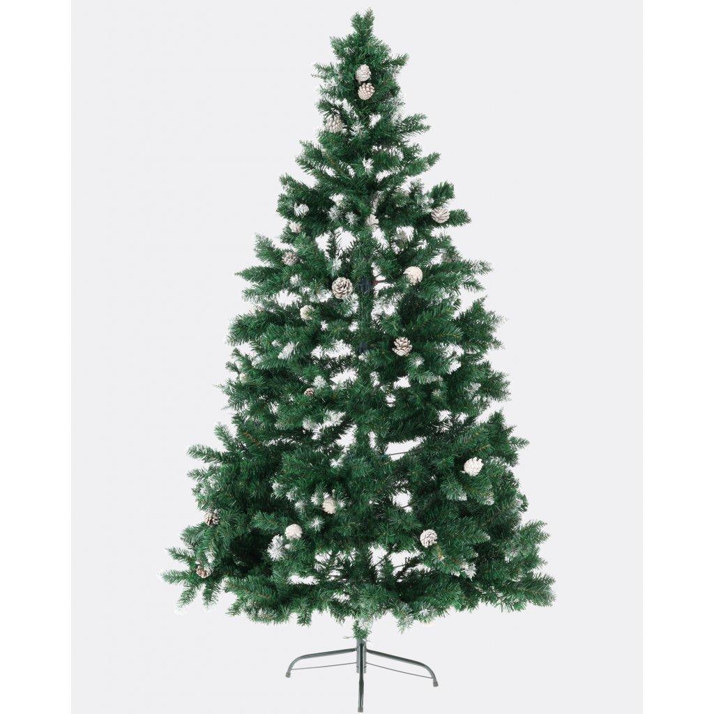 288 umely vianocny stromcek 2d smrek rysy 210 cm