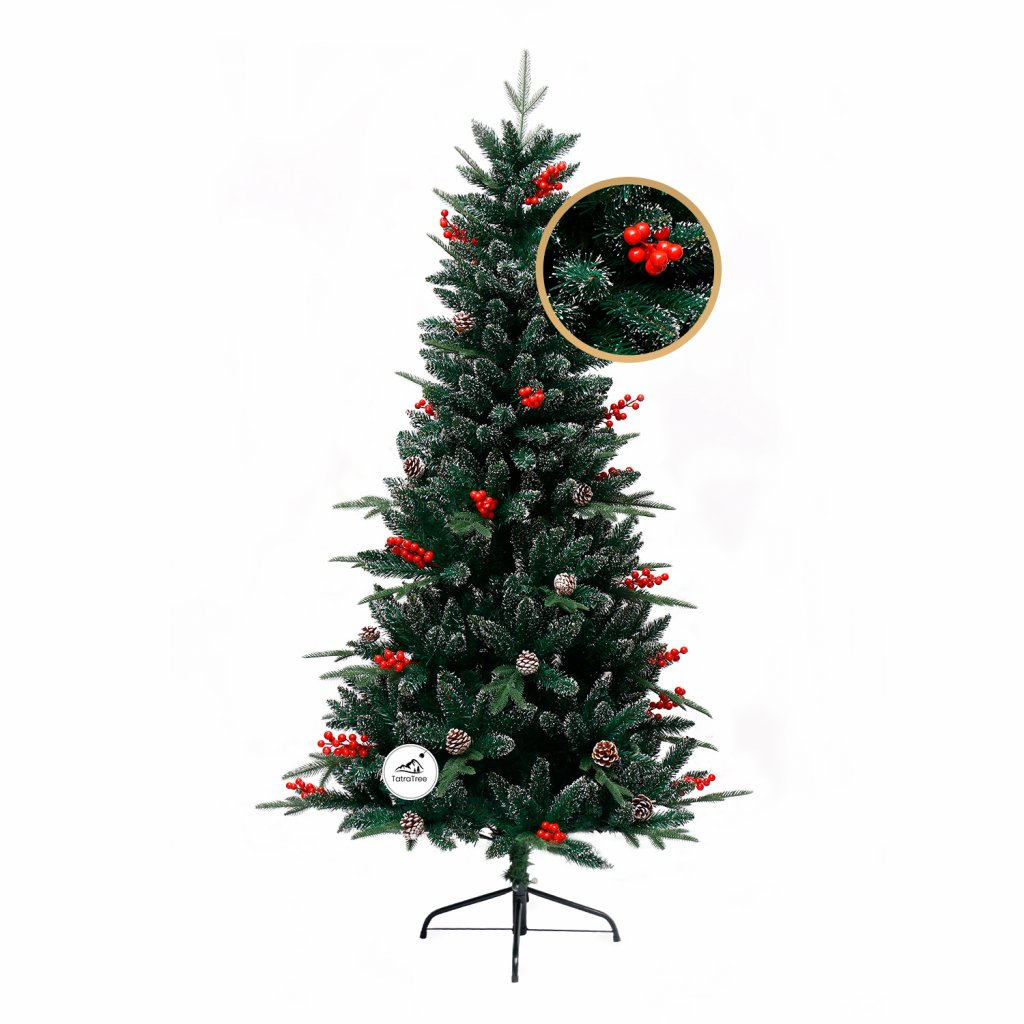 62 1 umely vianocny stromcek 3d jedla horska 150 cm