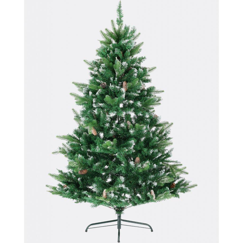 65 1 umely vianocny stromcek 3d borovica strieborna 180 cm