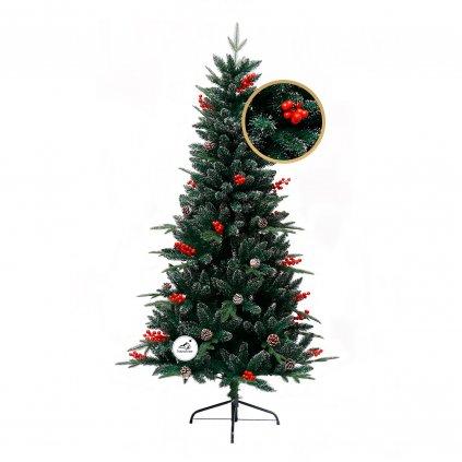 201 umely vianocny stromcek 3d jedla horska 210 cm