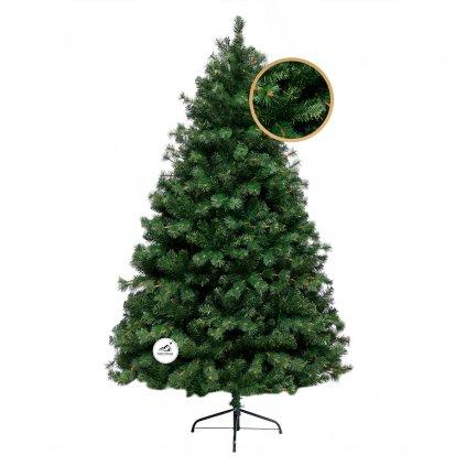252 umely vianocny stromcek 2d smrek horsky 210 cm