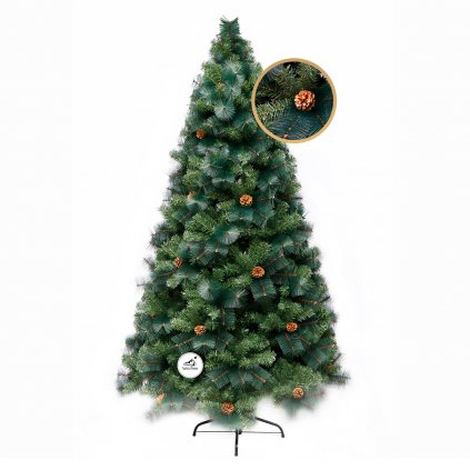 270 umely vianocny stromcek 2d smrek norsky 180 cm