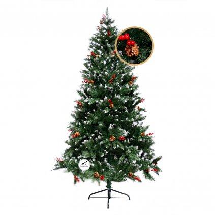 282 umely vianocny stromcek 2d smrek pyrenejsky 210 cm