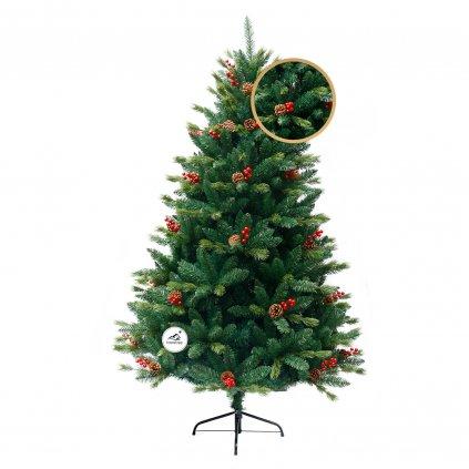 77 1 umely vianocny stromcek 3d jedla tatranska 180 cm