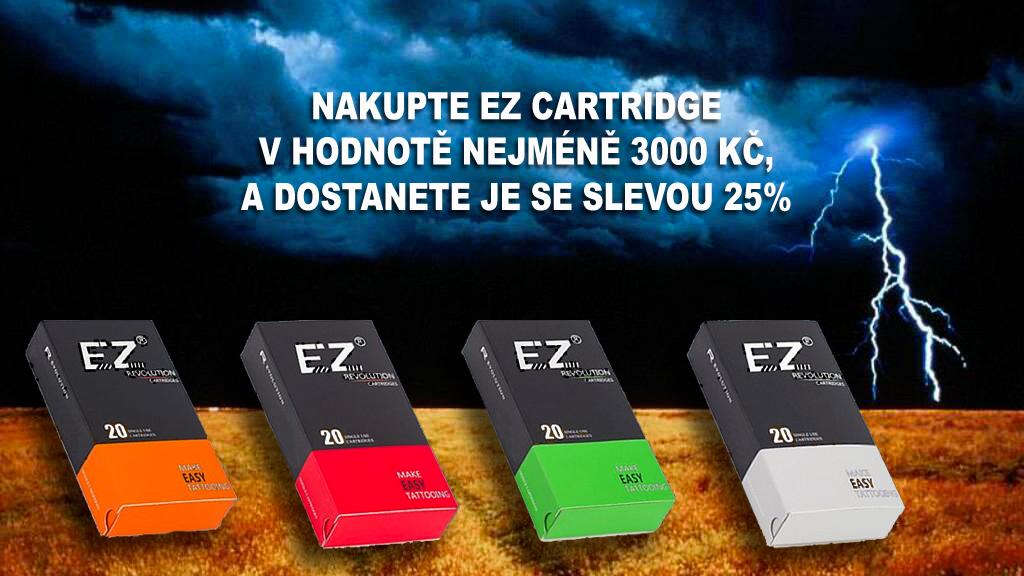Sleva 25% na EZ cartridges