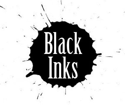 Černé a stínovací barvy