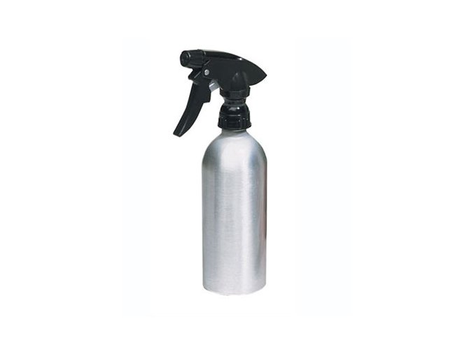 Hliníková láhev s rozprašovačem