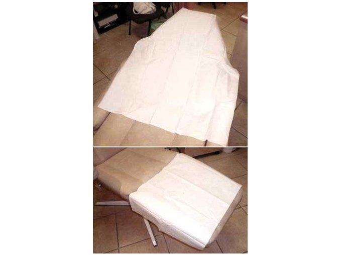 Dvouvrstvé papírové prostěradlo 210 x 75cm