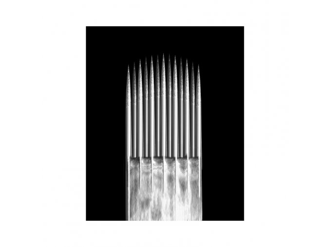 Jehla Kwadron, 9SEM - 0,35mm long taper, Textured
