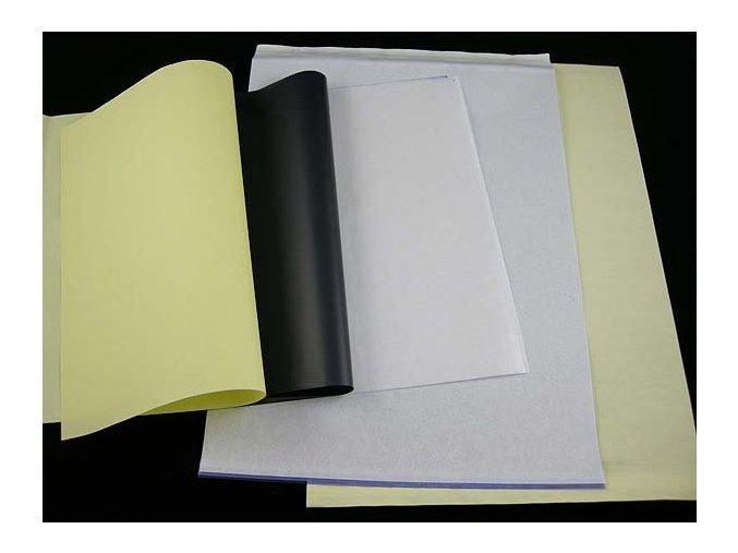 Obtiskovací papír 100ks, třístranný