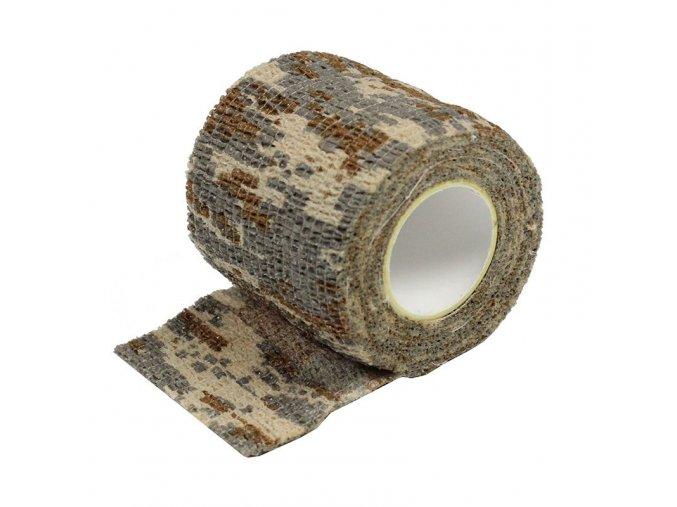 Adhesive hanbag - DESERT camouflage, 50mm x 4,5m