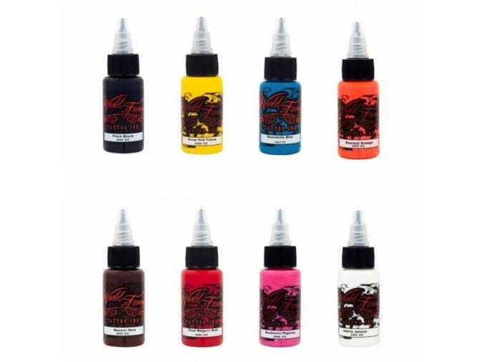 World Famous Ink Color set