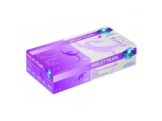 6199 nitrilove rukavice unigloves violet vel s