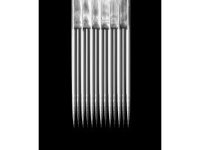 Jehla Kwadron, 7MG - 0,35mm long taper, Textured