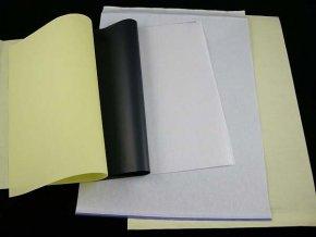 Obtiskovací papír 1ks, třístranný