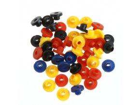 Gumové průchodky na kladívko - barevné