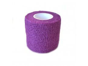 Adhesive hanbag - PURPLE, 50mm x 4,5m