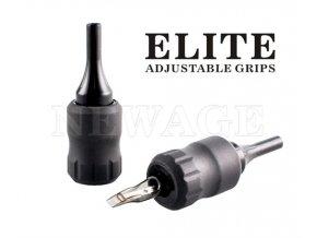 Elite plastový jednorázový tubus, 30mm, Black