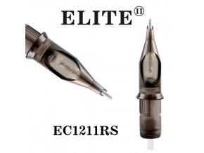 EC1211RS - kruhový stínovač 11 jehlový, Elite cartridge s membránou