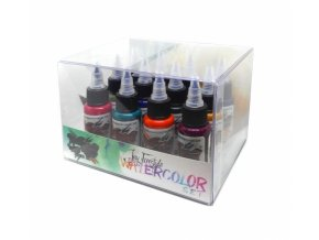6645 world famous ink jay freestyle watercolor set 12 x 30ml